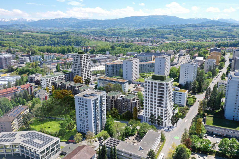 mazzapokora: Wohnüberbauung Friglane Fribourg