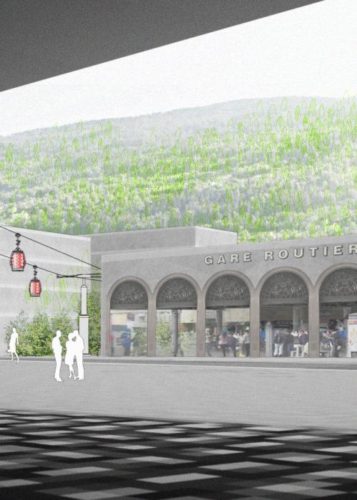 Gare Sud Sion