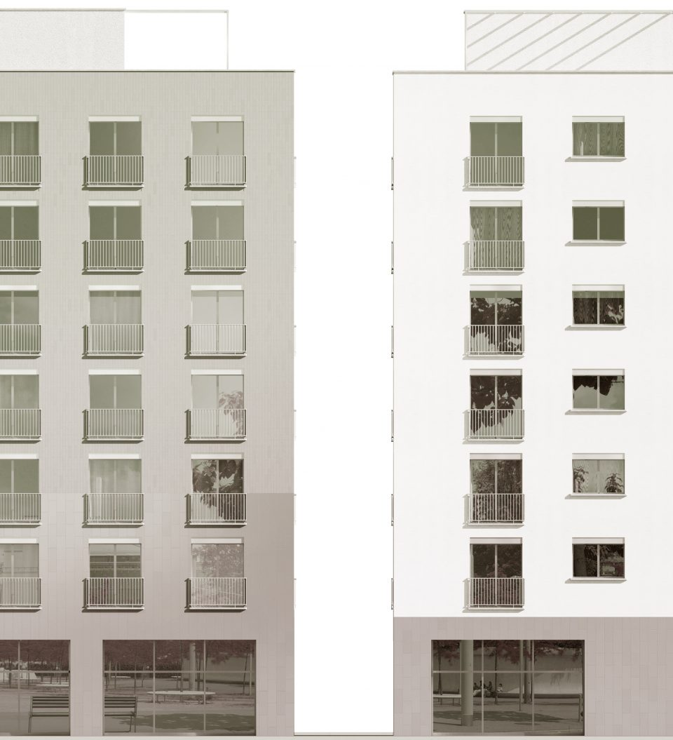 mazzapokora: Wohnüberbauung Leutschenbach